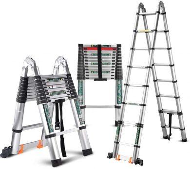 Best Telescopic A-Frame Ladder By LJWJ
