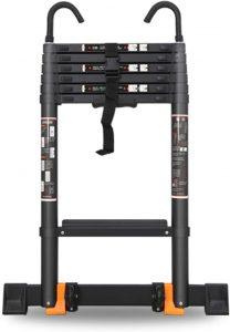 Best Telescopic Ladder (Black) By Erlan